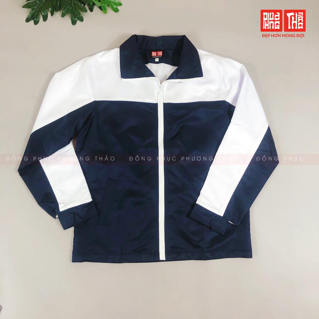 áo khoác đồng phục trường Hoàng Hà