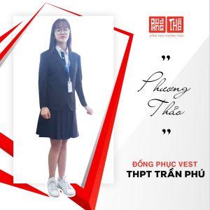 Đồng phục áo vest tại trường THPT Trần Phú