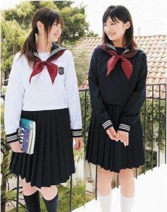 Thuy thủ là cảm hứng cho đồng phục học sinh nữ tại Nhật