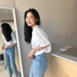 Phối đồ cho học sinh Thpt áo thun với quần jean