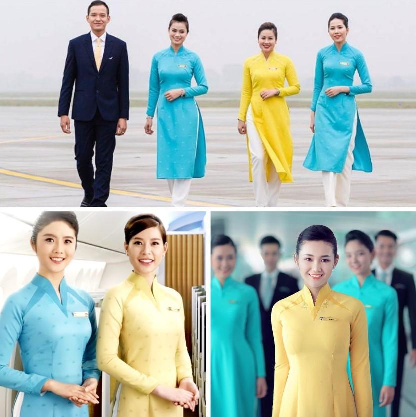 áo dài hàng không vietnam airlines