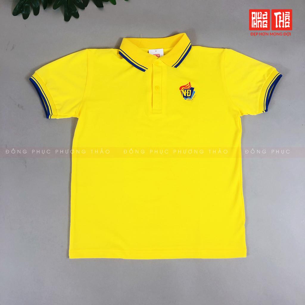 Áo thể thao CT đồng phục Việt Đức (vàng) cấp 3