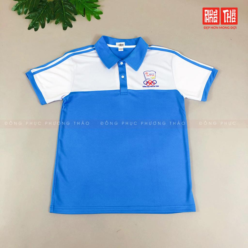 Áo thể thao đồng phục Phan Chu Trinh-Cấp 2