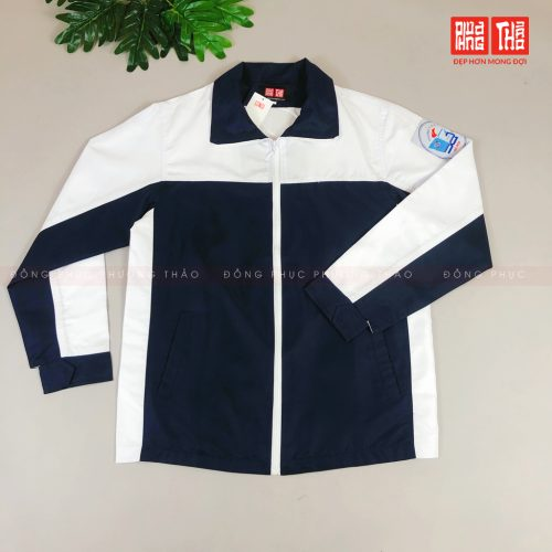 áo khoác đồng phục trường cấp 3 Xuân Đỉnh