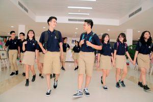 đồng phục trường quốc tế 01