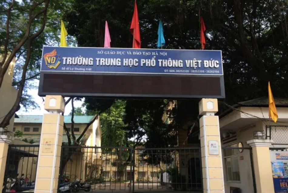hinh anh truong thpt viet duc