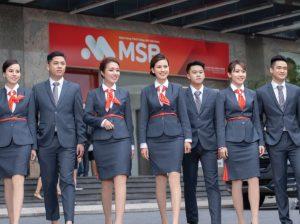 vest dong phuc ngan hang msb