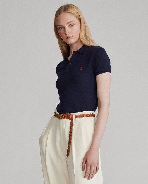 áo polo mix quần ông rộng